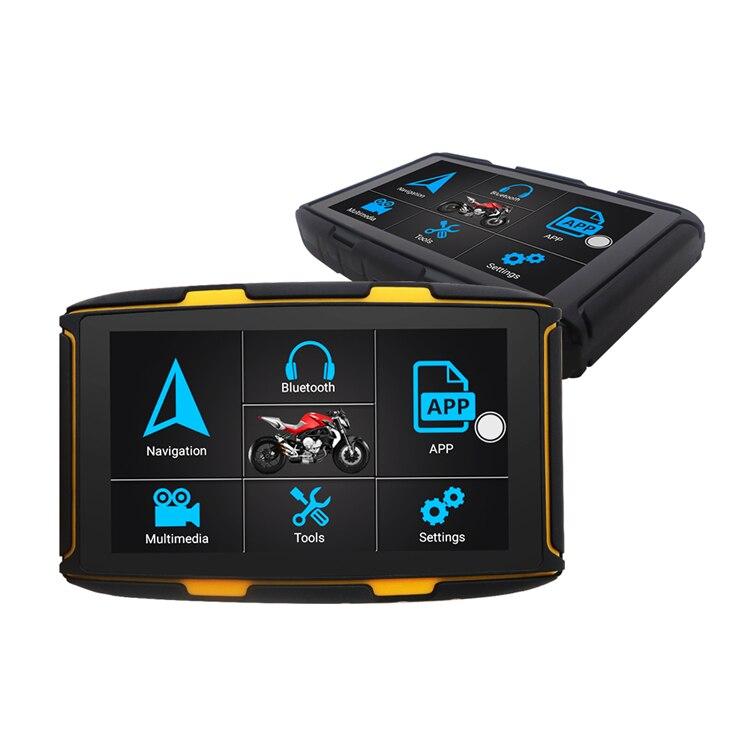 16G ROM 1G RAM Waterproof android 6 OS bike/motor/motorcycle navigation&GPS with free Europe map enlarge