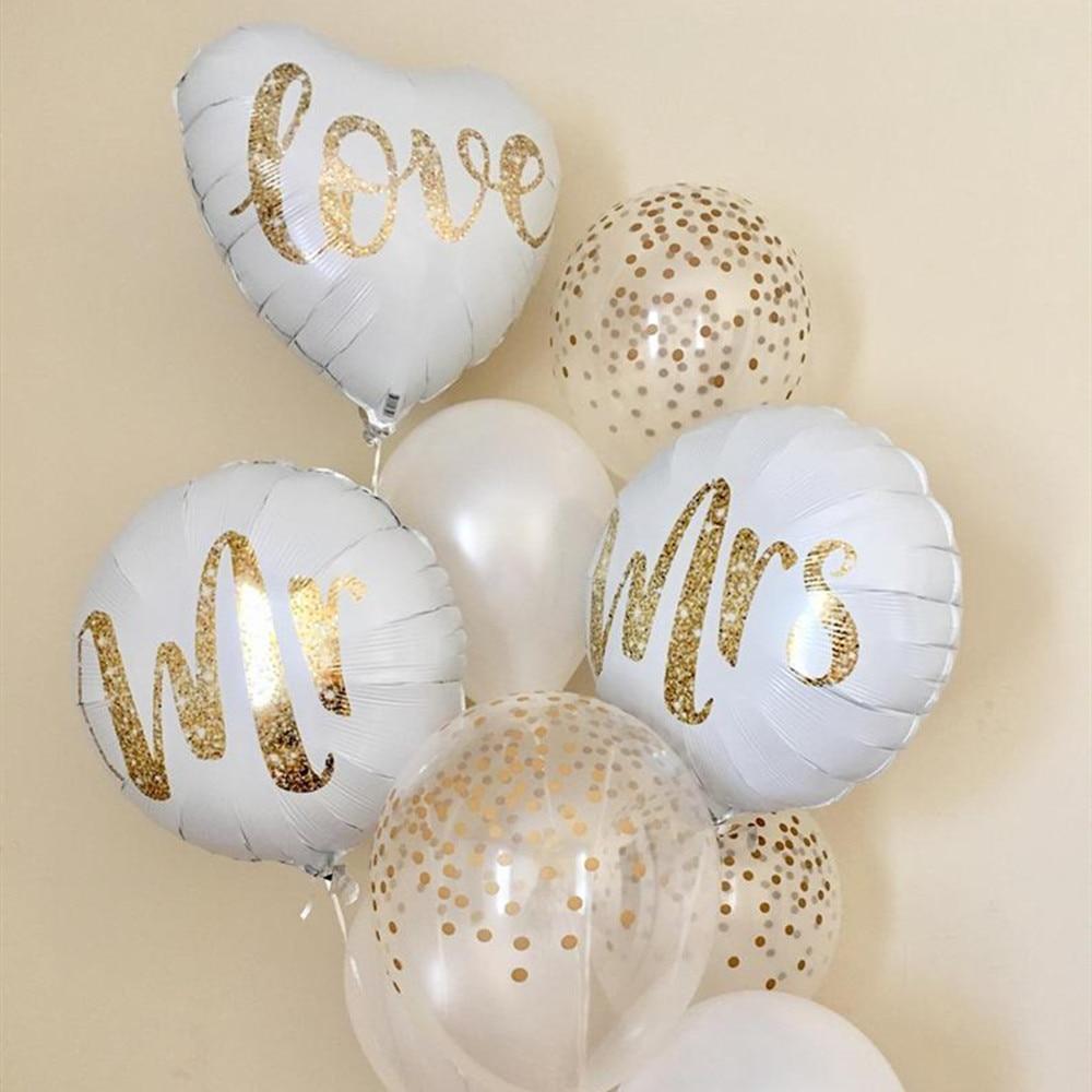 Juego de brocas de oro blanco, 18 piezas, brillo, aluminio de amor...