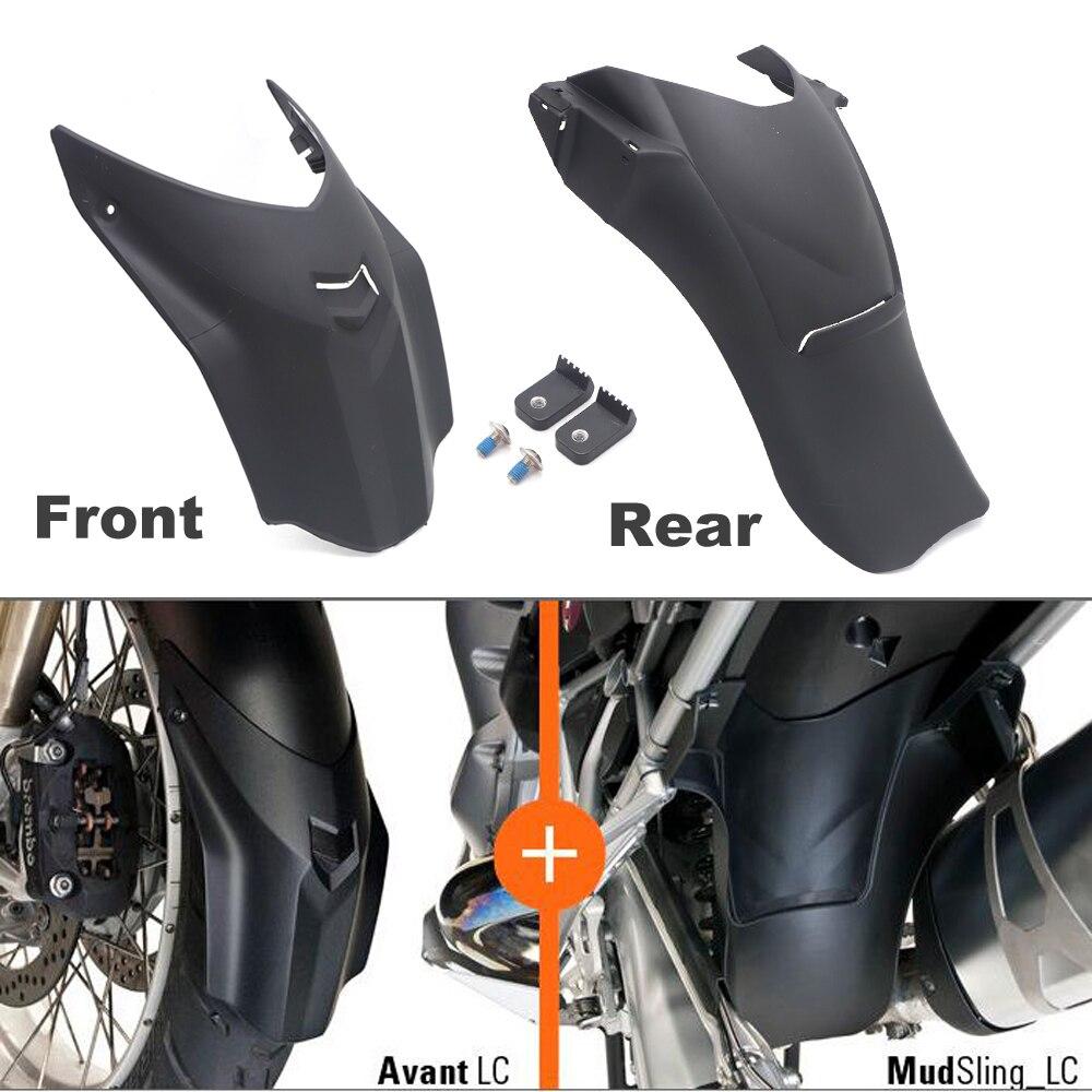 Guarda-lamas da motocicleta para bmw r1200gs motocicleta fender frente traseira respingo guarda para bmw r 1200 gs adv 2013-2017 lc