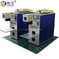 60W metal fiber laser marking machine (color mop fiber laser marking machine optional)
