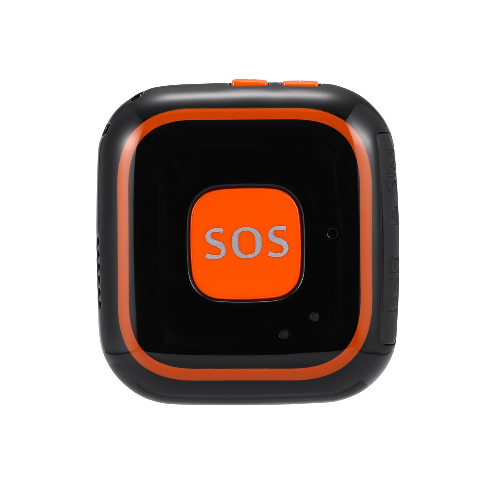 GSM GPRS GPS Elderly senior SOS Button emergency alarm V28 Fall alarm Real-time tracking two way talking Geo-fence elderly care enlarge
