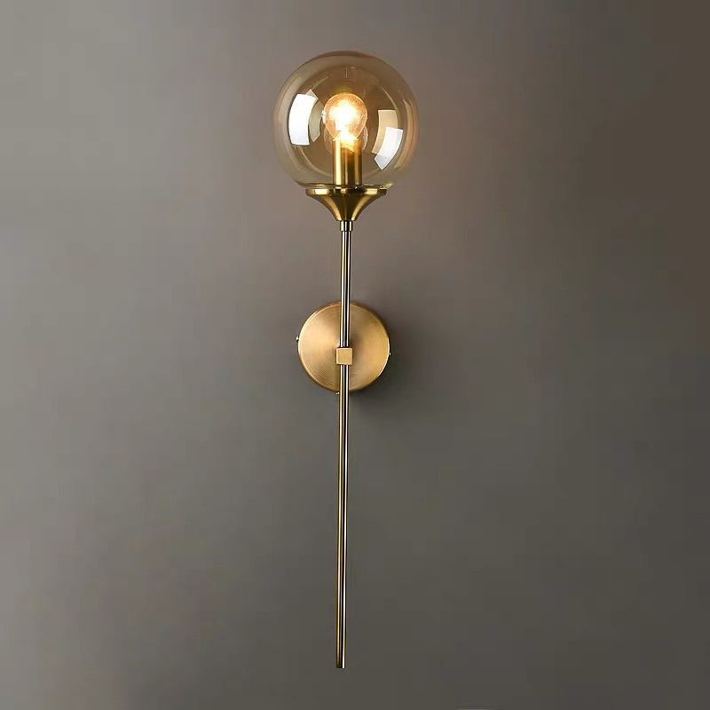 Modern Minimalist Wall Lamp Living Room Bedroom Bedside Mirror Front Lamp Aisle Corridor Background Wall Lamp Nordic Led