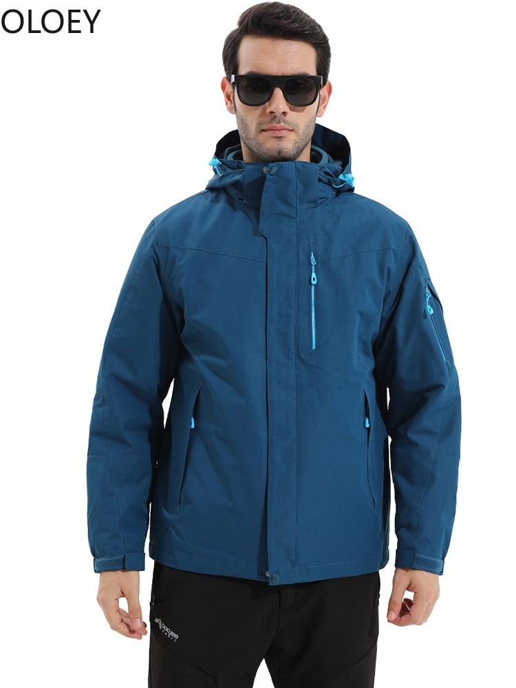 Nylon Couple Men Rain Jackets Waterproof Raincoat Women Rain Clothes Jackets Keep Warm Climbing Hiking 2020 Womens Rain Jacket enlarge