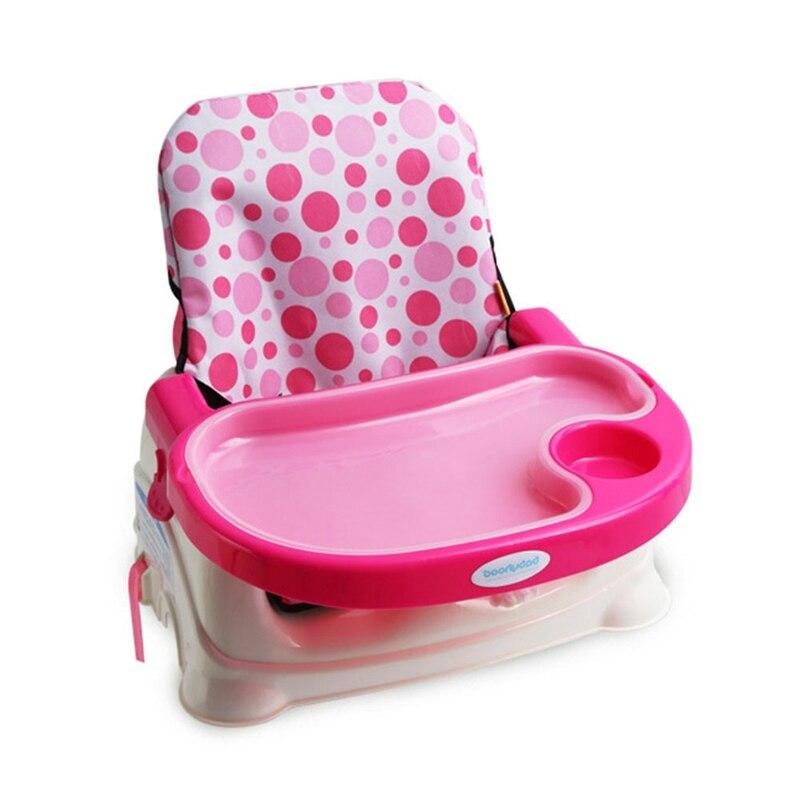 Новый детский чехол на сиденье для высоких стульев, накидки-бустеры, подушка для кормления, Складная Водонепроницаемая подушка