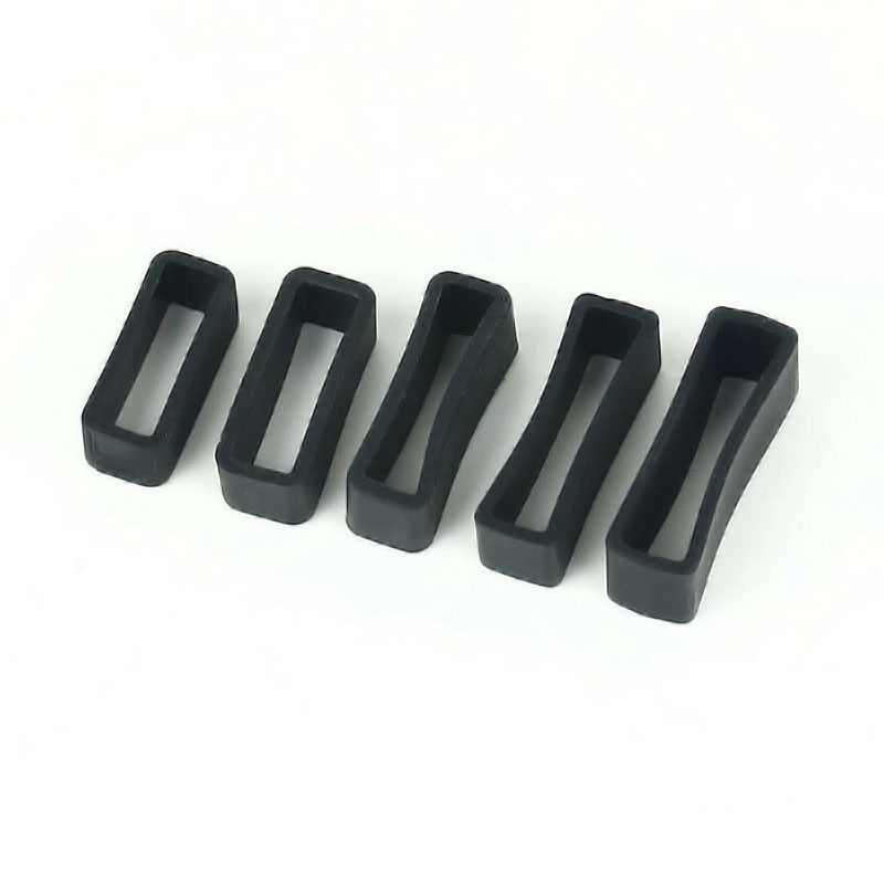 Silicone Watch Strap Loops High Quality Watchbands Retaining Hoop Replacement Watch Strap Clasp Lock