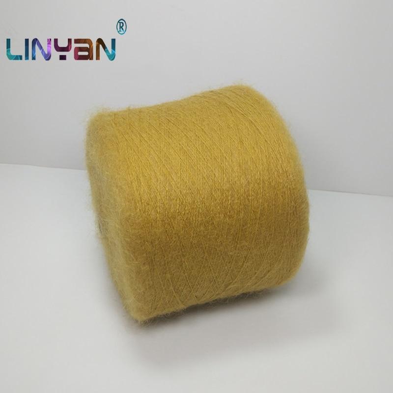 Angora mohair de 250 g/lote, hilo dacron para tejer a mano, hilo de ganchillo para tejer lanas madejas lanas ovillos ZL3