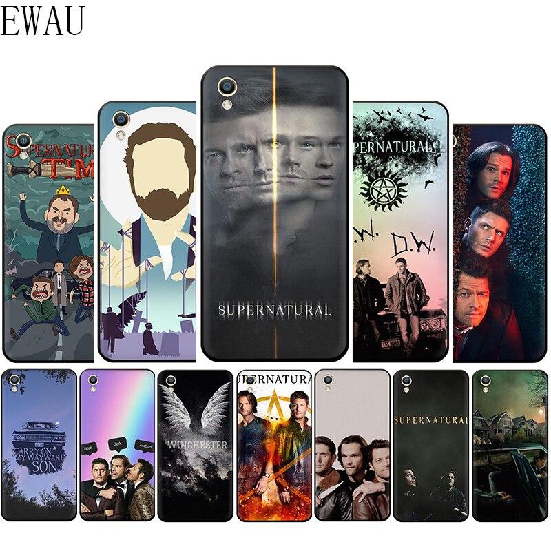 EWAU sobrenatural de la caja del teléfono de silicona para OPPO A1K A5 A9 Reno Z 2 10X Realme 2 A5 3 5 Pro Q X Lite