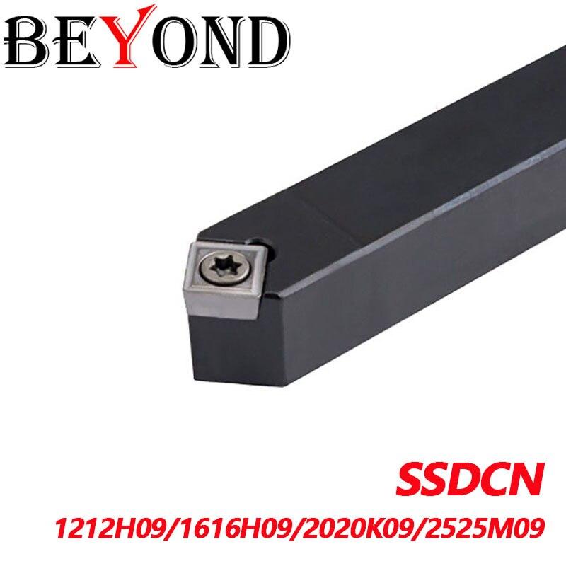 Além ssdcn1212h09 ssdcn1616h09 ssdcn2020k09 ssdcn2525m09 ssdcn torneamento externo ferramenta titular carboneto inserções scmt metal cnc