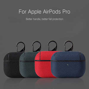 Luxury Case for Airpods Pro Nylon Case cover for Air pods Pro Protective Cover wireless Bluetooth Headset for airpods pro shell