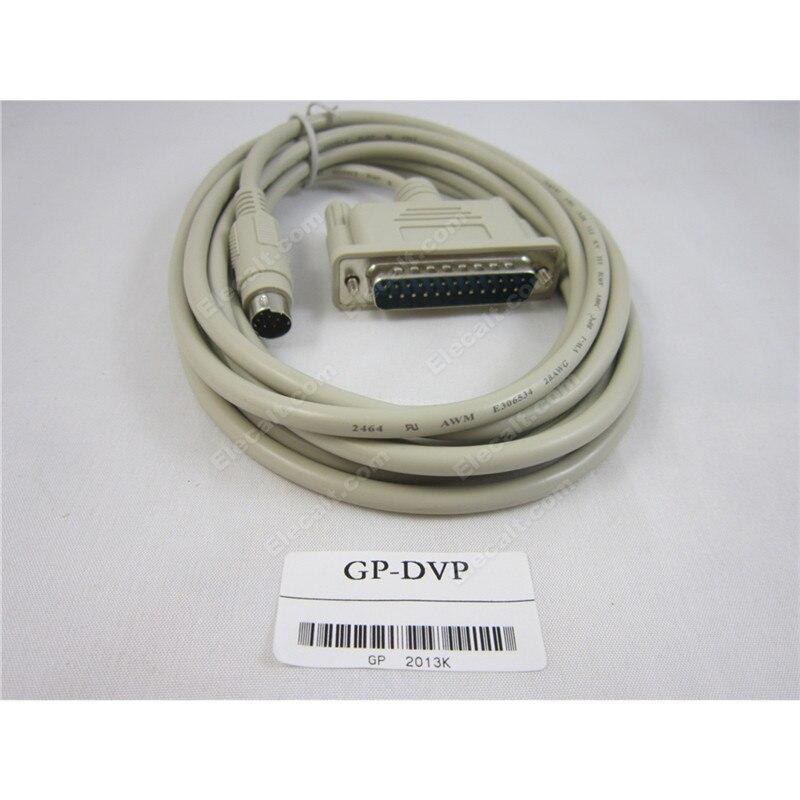 GP-DVP Cable de Programación DIGITAL GP/Proface panel táctil y para Delta PLC DVP
