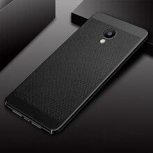 Heat Dissipation Phone Cover For Meizu M5 M3 Note M5S M6 M5C Pro 7 Plus Hard PC Fashion Fundas For Meizu M5 M3 Note M5S Housing