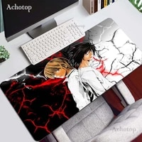 anime death note mats 900x400x2mm kira gaming mouse pad big keyboard mousepad anime notebook gamer accessories pad mouse mat