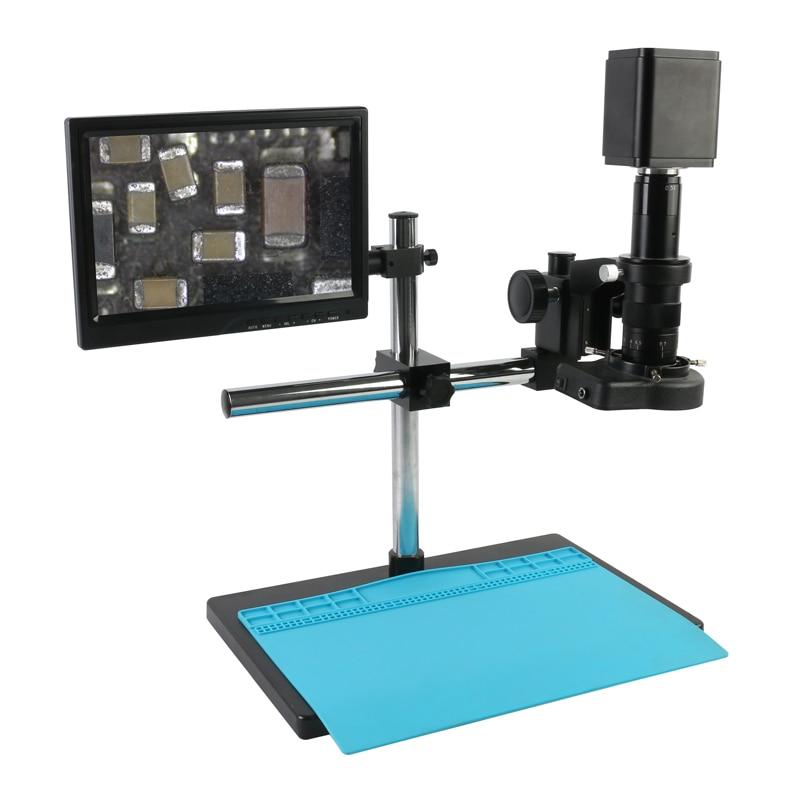 "UHD 4K de SONY imx334 HDMI WIFI USB 3,0 GE Electrónica Digital Vídeo cámara para microscopio 180X/300X C montaje de la lente 10,1 ""Monitor LCD Kit de"