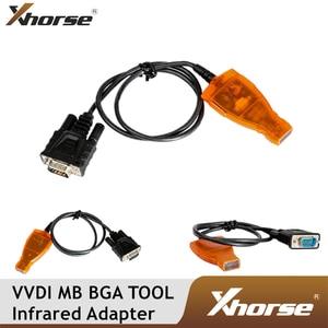 Image 1 - Оригинальный Xhorse VVDI MB BGA инструмент инфракрасный смарт ключ адаптер для Mercedes Benz MB BGA Автомобильный Дистанционный ключ Инфракрасный соединительный кабель