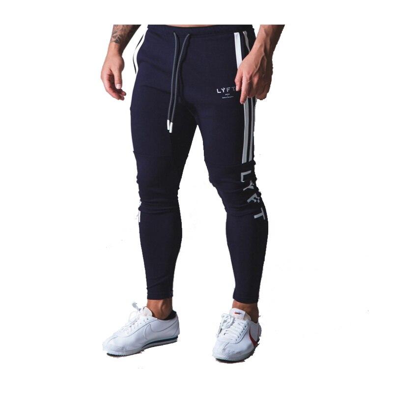 2021 Cotton Men's Side stripe sweat pants Joggers Skinny pants ropa hombre tracksuit sport men spodnie dresowe Casual trousers