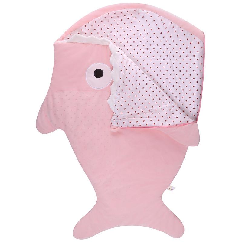 Manta para bebé, manta para recién nacido, abrigo para dormir, bolsa a prueba de patadas, sacos de dormir de dibujos animados, bata de baño de bebé en algodón 0-16M