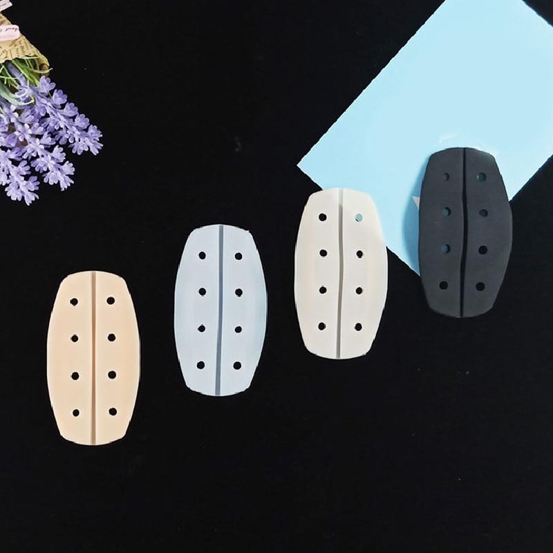 2ps almohadilla de hombro de silicona alivio del dolor antideslizante suave tirante para sujetador cojines tirante para sujetador soporte suave transpirable alivio del dolor hombrera