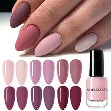 NICOLE agenda vernis à ongles effet mat vernis à ongles couleur rose Art des ongles vernis huileux vernis Art des ongles