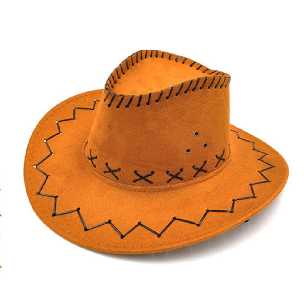 Sonnenschirm Einstellbare Halloween Beiläufige Breite Krempe Westlichen Mode Cowboy Hut Jungen Mädchen