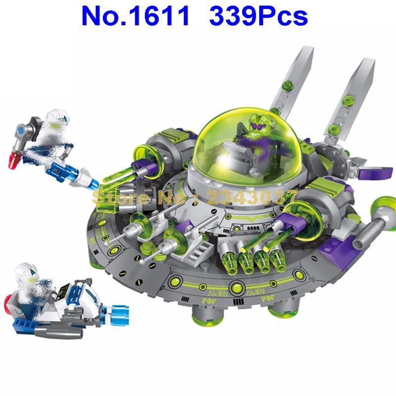 1611 339pcs space adventure star intercept alien cruiser enlighten building blocks Toy