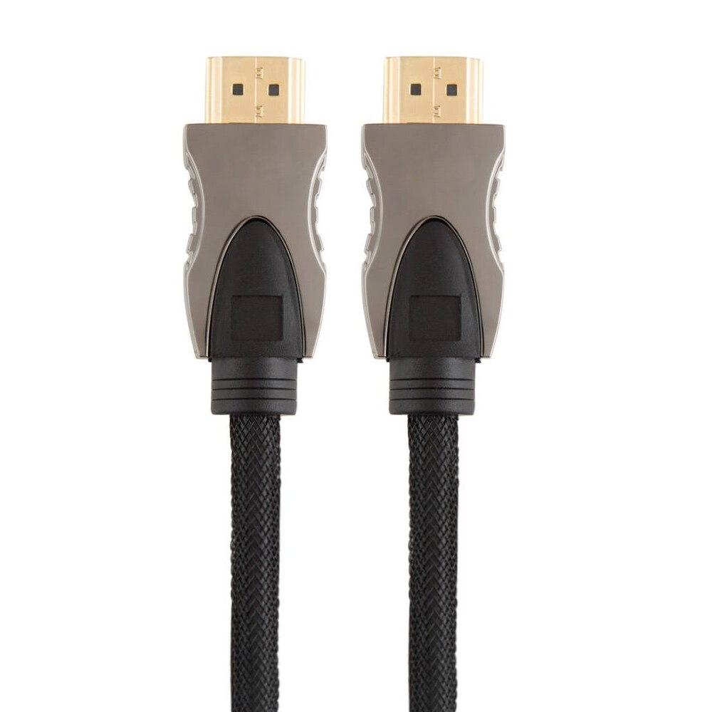 Cable HDMI 1,4 V HDMI 10M 33ft Premium con malla y carcasa metálica Triple blindado y trenzado 19 + 1 conductores 3D y hasta 4KX2K