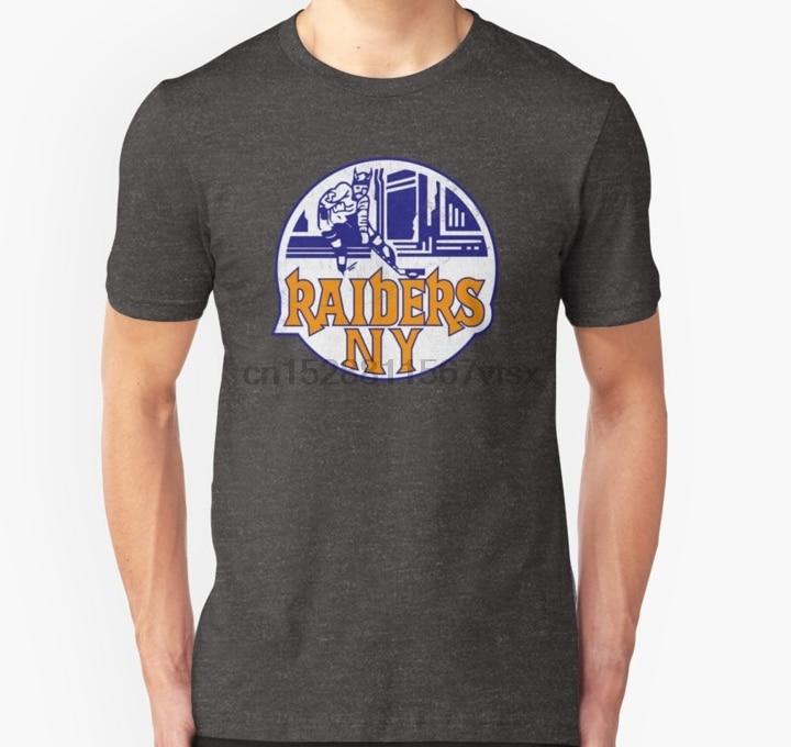 Мужская футболка Defunct New York Raiders Hockey, футболка унисекс с принтом, футболки, топы