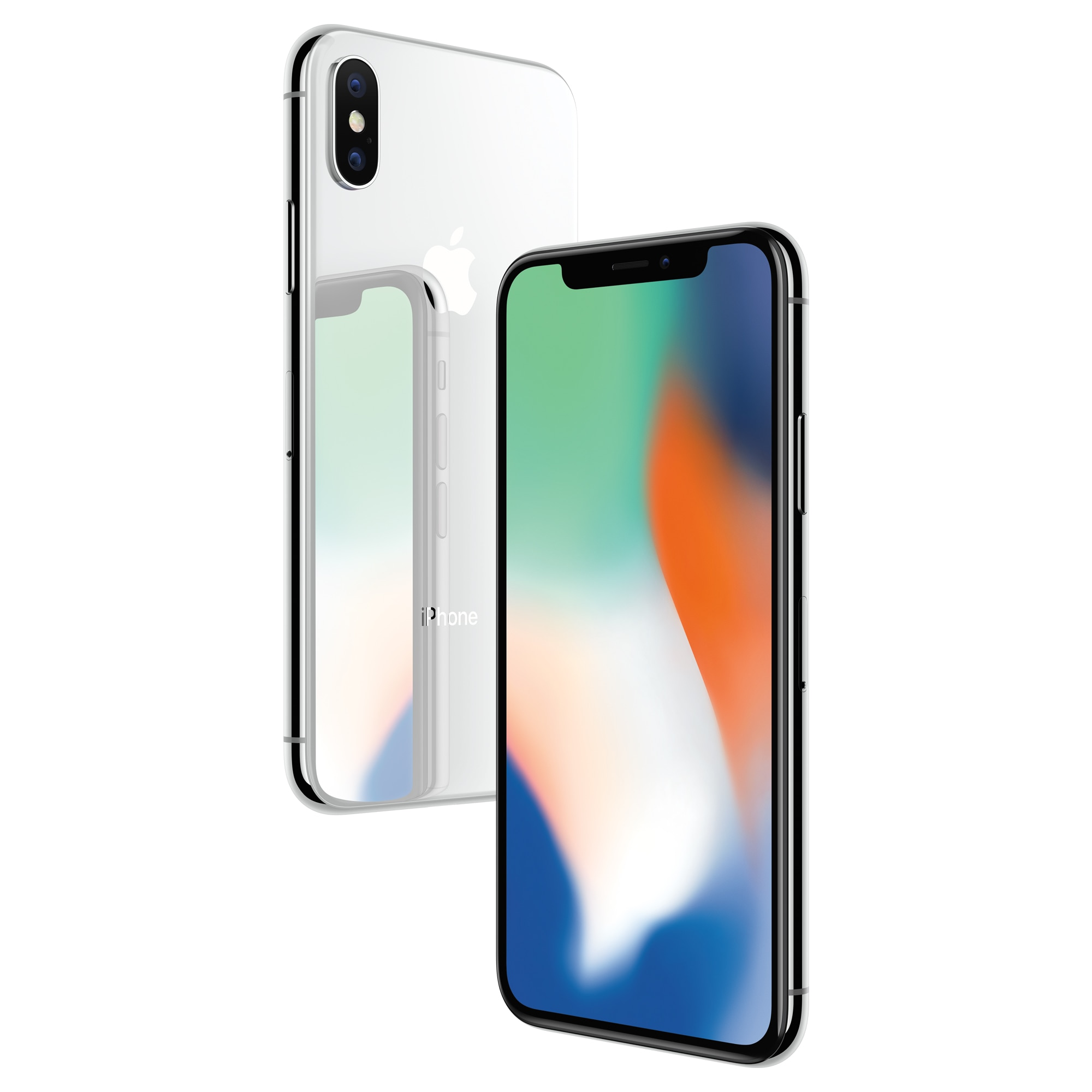 CN/RU Apple Used iPhone X With Face ID 64GB/256GB ROM 5.8'' Mobile Phone 3GB RAM 12MP Hexa Core iOS A11 Dual Back Camera 4G LTE