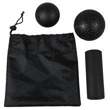 Yoga massage set-Produkte fur die Faszien in verschiedenen 1 Lacrosse Ball+1Fascia ball+1Yoga column