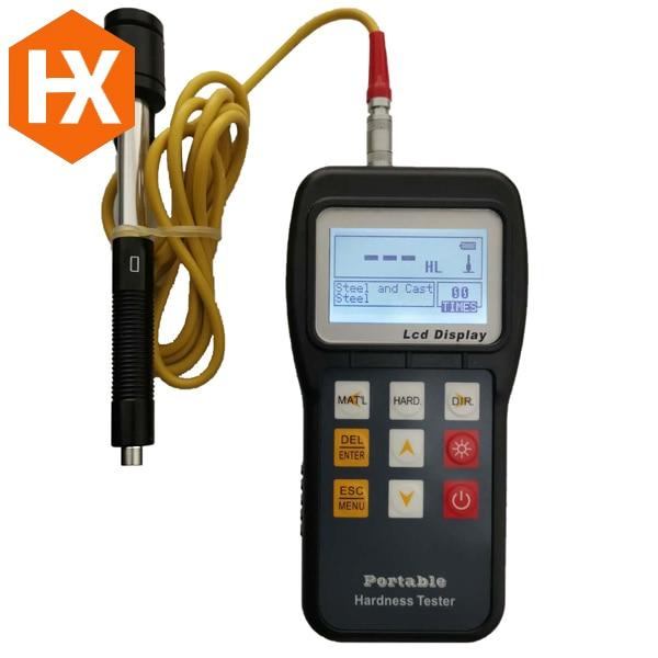 الصناعية NDT اختبار ماكينة بالموجات فوق الصوتية HXHT-100 المحمولة بالموجات فوق الصوتية ليب اختبار صلابة شاشة الكريستال السائل