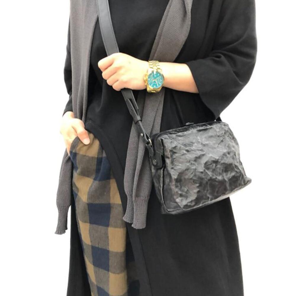 حقيبة كتف جلد الغنم كول للنساء حقائب كروسبودي جلد طبيعي سحاب حقيبة ساع صغيرة المحفظة