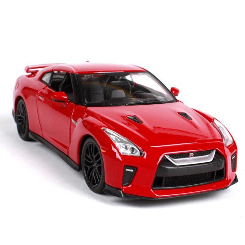 124 aleación de metal fundición a presión clásica Japón GTR GT R carreras rápidas modelo de coche fresco fundición a presión serie de coches juguetes para niños adultos