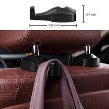 2pcs/lot Car Back Seat Headrest Hanger Holder Hook for honda accord bmw x5 e53 corolla mercedes w204