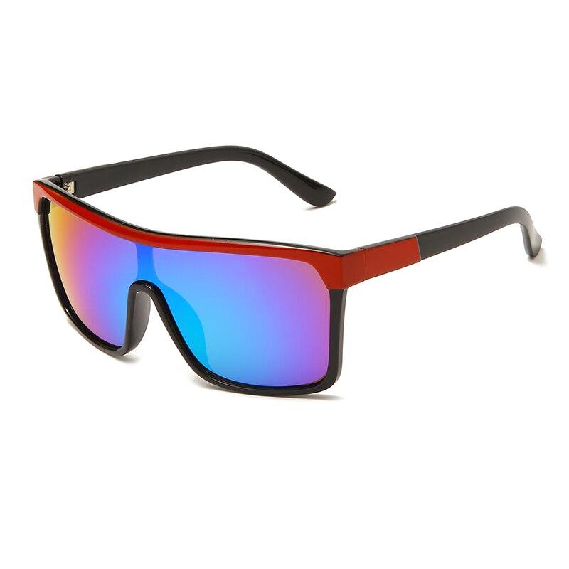 Солнцезащитные очки унисекс, квадратные пикантные красочные, модные дизайнерские солнечные очки от солнца от известного бренда, UV400, для му...