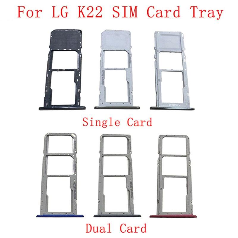 Запчасти для лотка SIM-карты, детали для замены карты памяти MicroSD LG K22