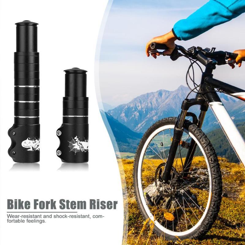 WAKE Front Adapter Stem Extender Aluminum Alloy MTB Bike Fork Stem Extender Cycling Handlebar Riser Adapter Bike Parts