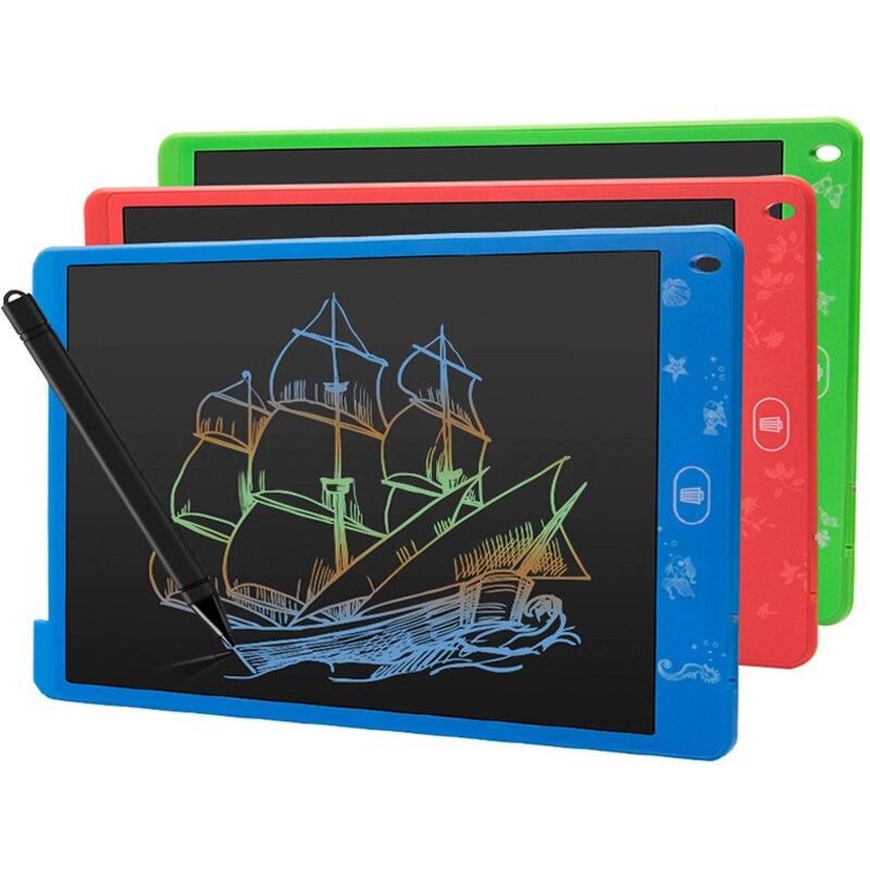 8,5 дюймов цветной планшет с красочным экраном электронный графический ЖК-дисплей для рисования доска для рукописного письма бумага для дет...