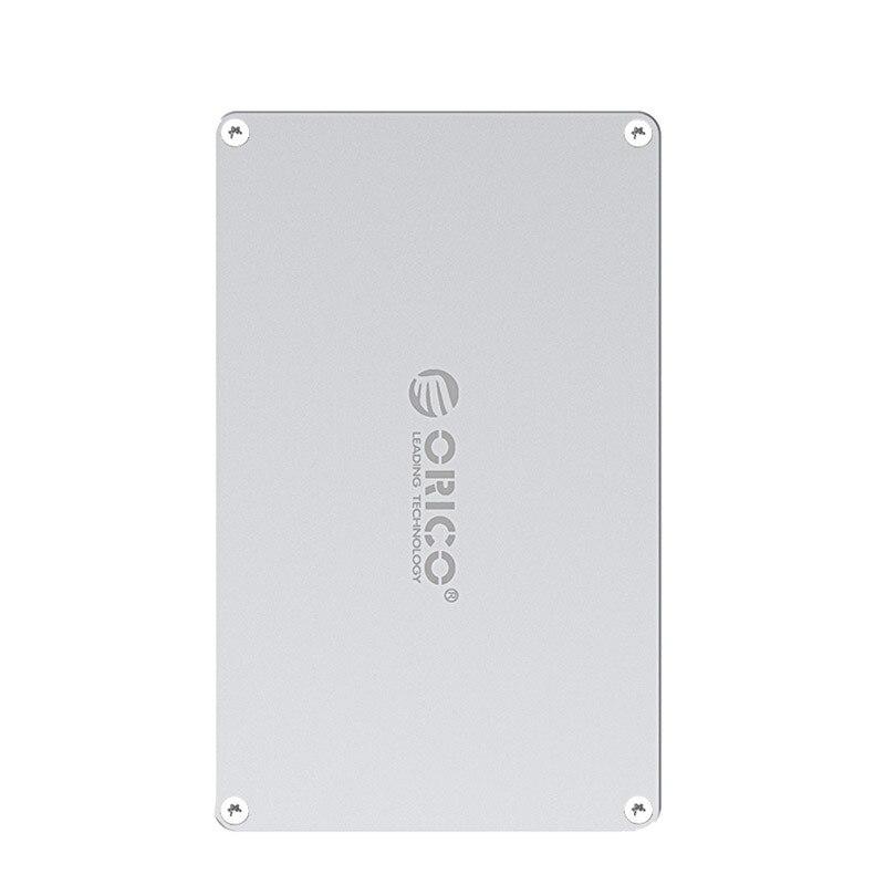 2,5-zoll vier-bay aluminium legierung DIY hohl festplatte fall, Typ-C interface, DIY design, hohl design,ORICO DY254C3