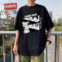 classic roronoa zoro t shirt for men short sleeve japanese anime one piece tee tops cotton luffy manga oversized t shirt