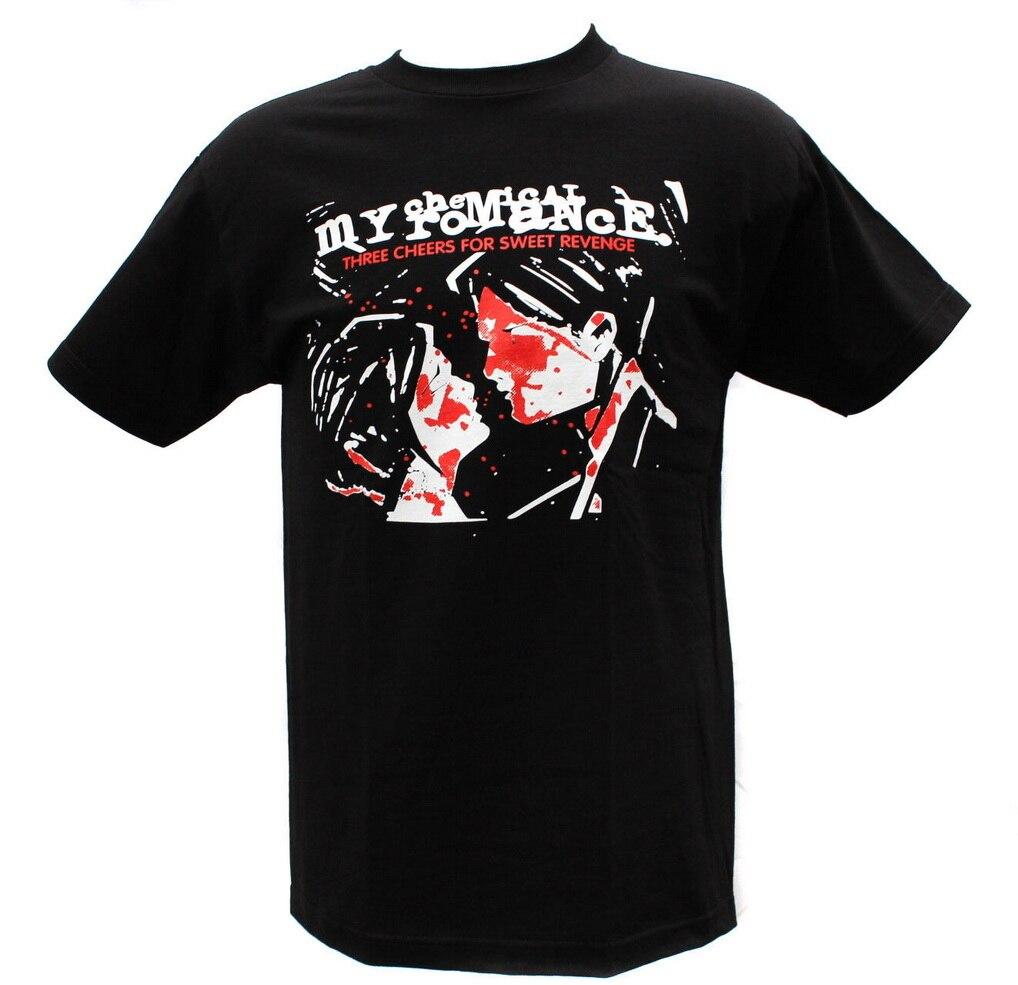 MCR Punk Rock Band Graphic T-Shirts TEE Shirt Outfit Casual