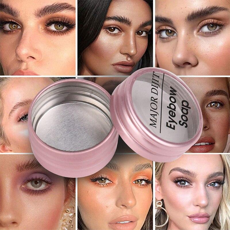 3D Feathery Brows Setting Gel Waterproof Soap Brow Makeup Kit Lasting Eyebrow Gel Women Eyebrow Tint Pomade Cosmetics