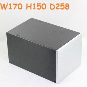 Многофункциональный блок питания DIY усилитель питания шасси предусилитель для наушников шкаф ЦАП декодирование корпуса чехол W170 H150 D258