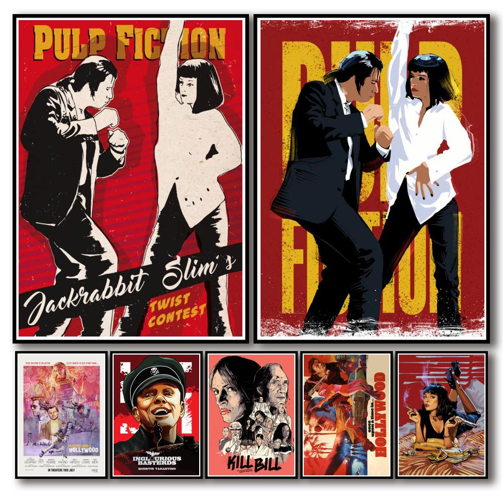 44-designs-quentin-tarantino-movie-whitepaper-poster-painting-abstract-funny-fancy-wall-sticker-for-coffee-house-bar-3