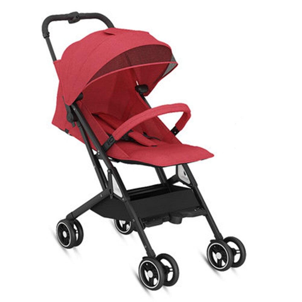 Stroller sitting and lying light portable fold umbrella baby pram newborn travelling on plane gifts enlarge
