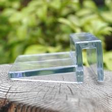 Filtre à couvercle fixe Aquarium acrylique   4 pièces, Clip en verre pour Aquarium acrylique, support de lampe, support de monture du support de la lampe 6/8/10/12mm qualité #10