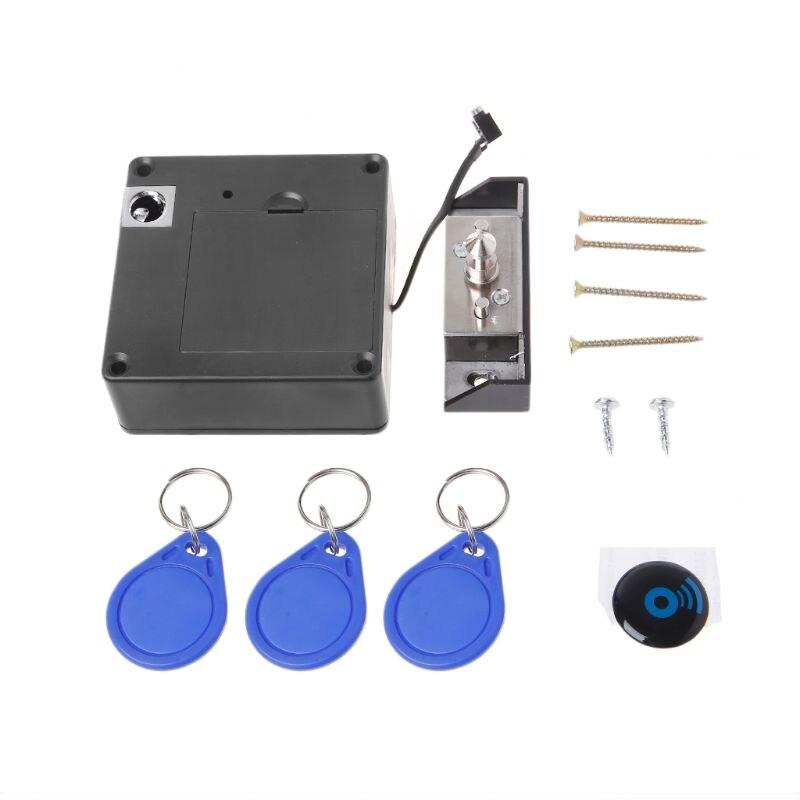 Cerradura electrónica Invisible RFID, cerradura oculta sin llave para puertas de cajones, cerradura con Sensor 875F