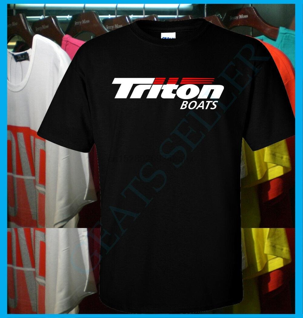 Nuevo Triton barcos logotipo yate marina de T camisa S-3XL