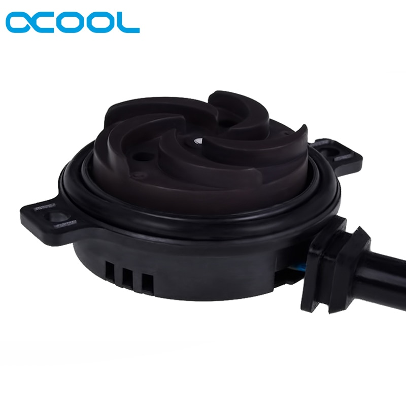 ألفاكول DC-LT 2600 الترا منخفضة الضوضاء السيراميك مضخة 12 فولت تيار مستمر لنظام تبريد المياه الكمبيوتر