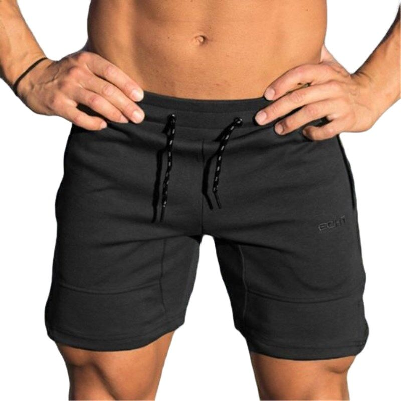 Summer Muscle Fitness Running Shorts New Men's Training Summer Lace-up Casual Multicolor Large Size Sports Fitness Pants