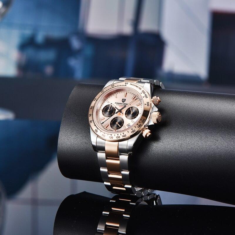 PAGANI עיצוב חדש גברים של שעונים למעלה מותג יוקרה צבאי עמיד למים שעון גברים קוורץ עסקי שעוני יד Mens Relogio Masculino