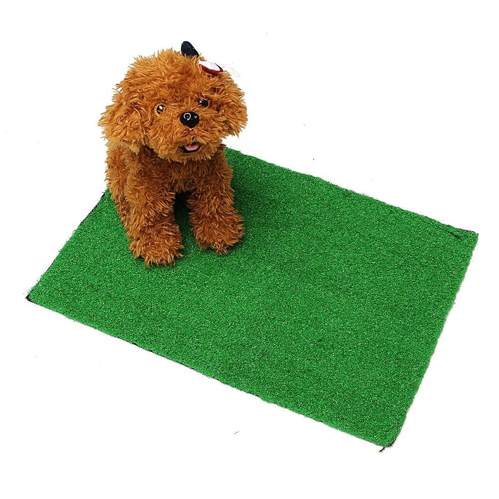 Large Size Pet Dog Cat Artificial Grass Toilet Mat Indoor Potty Trainer Grass Turf Pad Pet Supplies poop bag